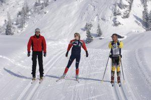 Ski nordique aux Confins - La Clusaz